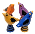 "Bird Salt & Pepper Shakers • 3"" x 3"" • $56"