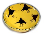 "Large Bird Bowl • 14"" • $156"