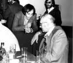 With William Burroughs at Zappa Party