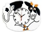 "Cow Clock • 11"" x 9"" • $62"
