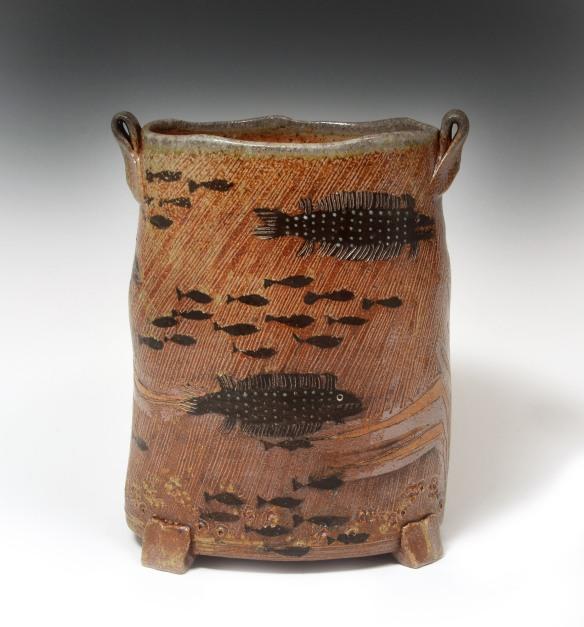 fish vase