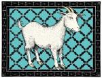 Turquoise Goat