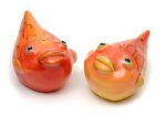 "Goldfish Salt and Pepper Shakers • 3"" x 5"" • $58"