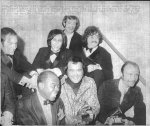 with Louie Armstrong at the Grammies 1969