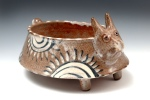 "Rabbit Bowl • 10.5""x11""x7.5"" • $110"