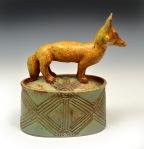 """Fox Box • (H) 8.5"""" • $250"""
