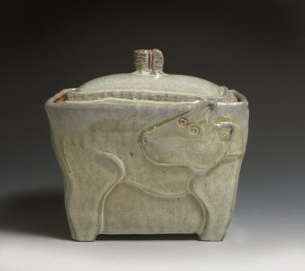 dog canister